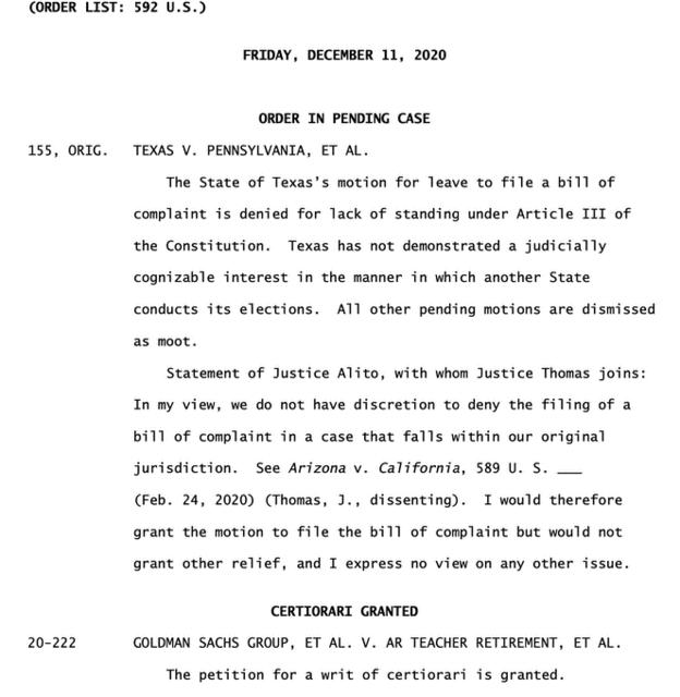 000000 テキサスの訴えに対する最高裁の判決12112020.png